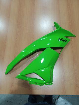Carenado lateral derecho verde Kawasaki ZX6R