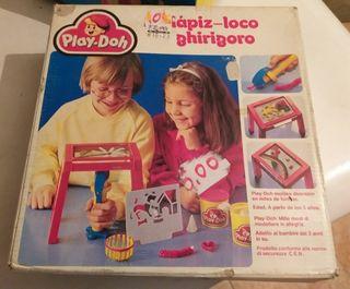 Antiguo juego de play doh Lapiz loco