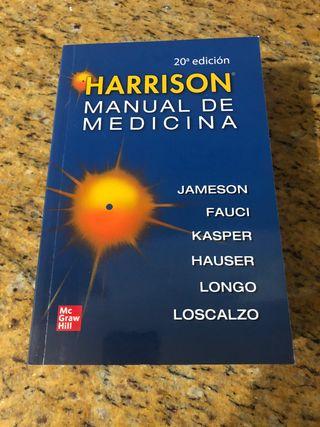 Libro Harrison manual de medicina 20e NUEVO!!