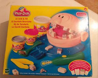 Antiguo juego de play doh el dentista bromista