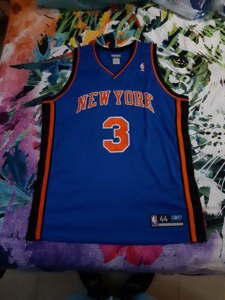 Camiseta de S. Marbury en los NY Knicks