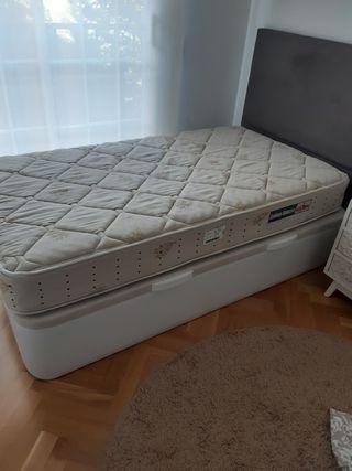 Urge!. Canapé abatible + colchón Pikolin 105x190cm