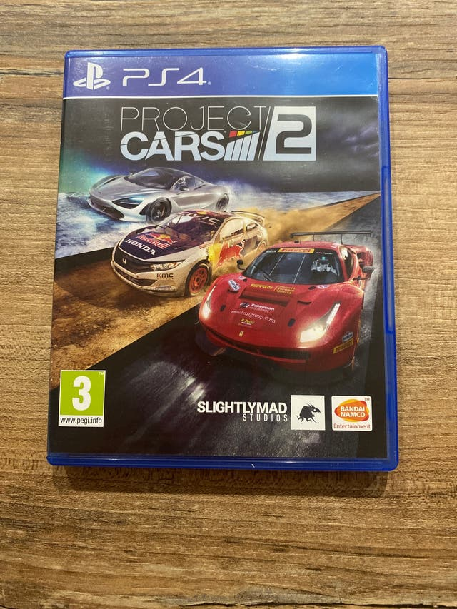 Project Cars 2, Ps4