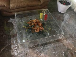 Mesa salón cristal