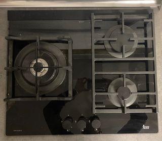 Placa de cocina a gas