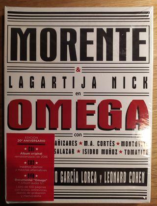 OMEGA. MORENTE & LAGARTIJA NICK. 2 CD, 1 DVD