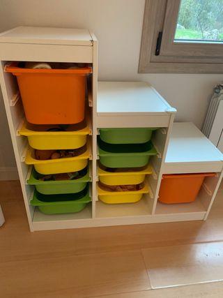 Mueble organizador juguetes ikea