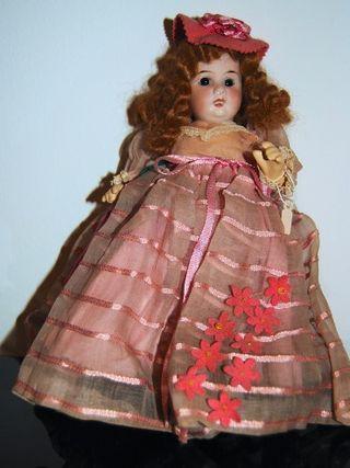 Muñeca Antigua Lehmann. Cara Porcelana.