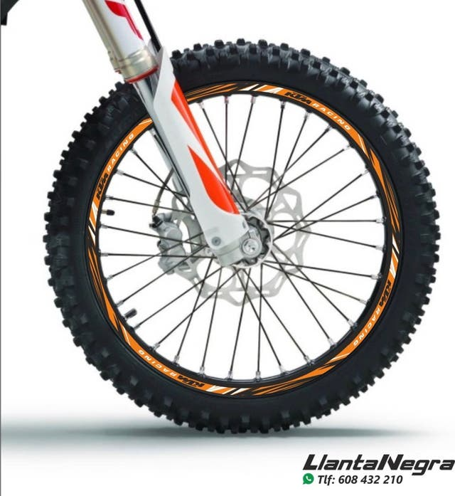 Vinilos adhesivos para ruedas ktm EXC / SX