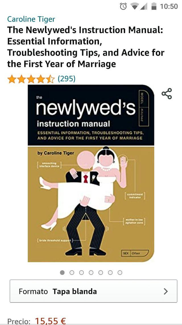 libro recién casados