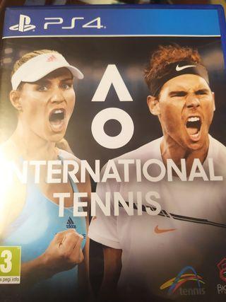 Ao tenis