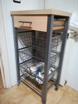 carrito auxiliar de cocina (verdulero/frutero)