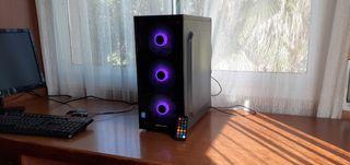 Ordenador Gaming i5 RGB+MSI GTX1050ti 4Gb+SSD 240G