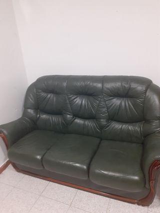 sofa de piel pintacho