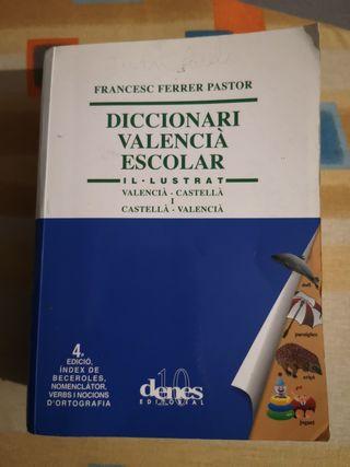 Diccionario Valencia escolar