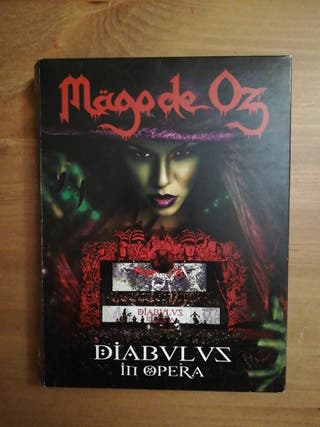 Mago de Oz. 2 CDs y DVD.