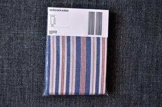 Cortinas de rayas IKEA (A ESTRENAR) Paquete con d