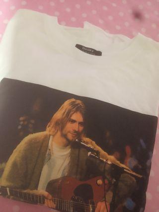 camisa Kurt Cobain