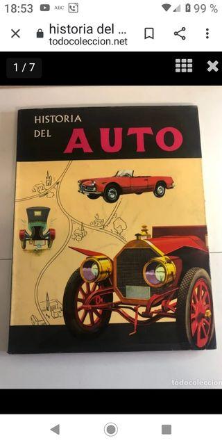 libro historia del auto años 60