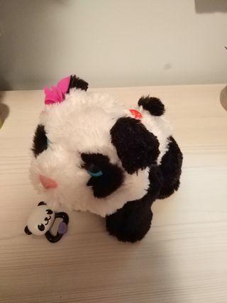 Furreal Friends - Peluche Pom Pom, mi bebé panda (