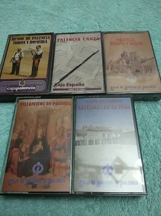 PALENCIA HIMNOS, BAILES, VILLANCICOS CASSETES (5)