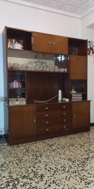 mueble de salón tv vintage