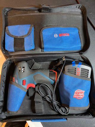 Taladro atornillador Bosch a baterias