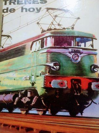 libro de trenes de hoy años 70
