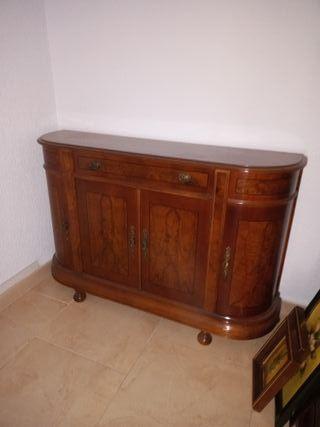 Mueble recibidor de madera