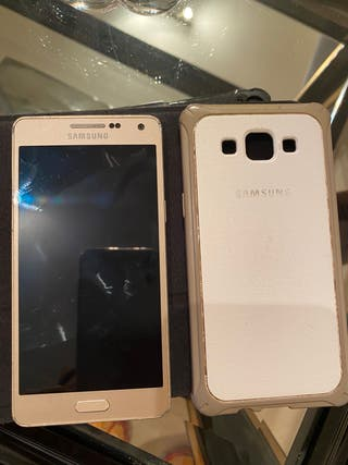Móvil Samsung A5 con funda original