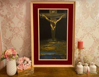 Cuadro Cristo de San Juan De la Cruz de Dalí