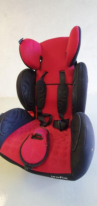 silla de coche niño grupo 1 2 y 3