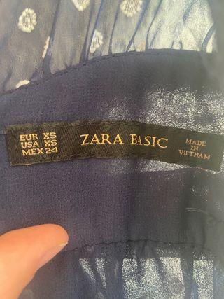 Mono Zara de lunares con espalda descubierta