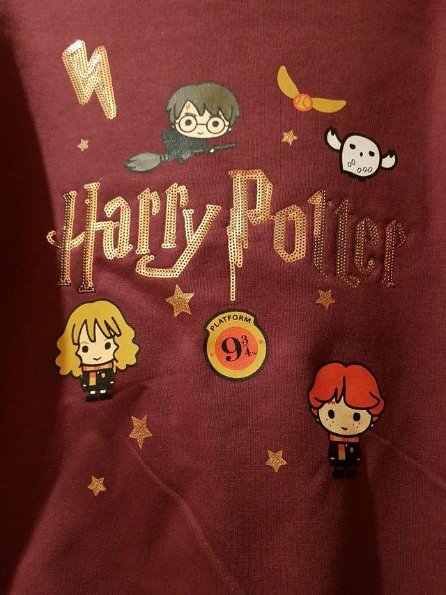 Sudadera de Harry Potter con lentejuelas