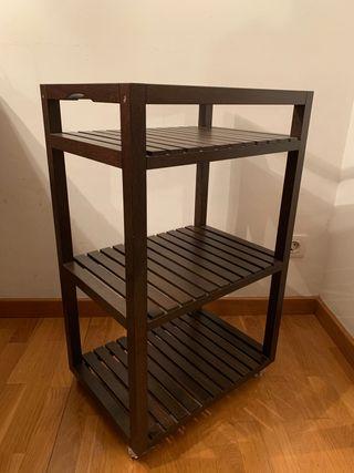 Ikea Molger - Carrito en madera