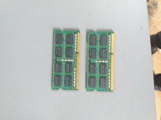 Memorias RAM DDR3 4gb