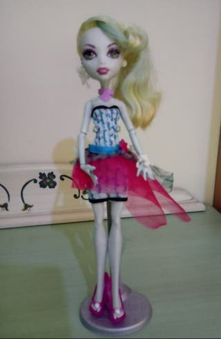 Monster High Lagoona Blue.