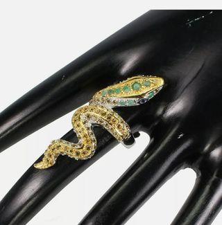 Fabuloso y original anillo plata 925