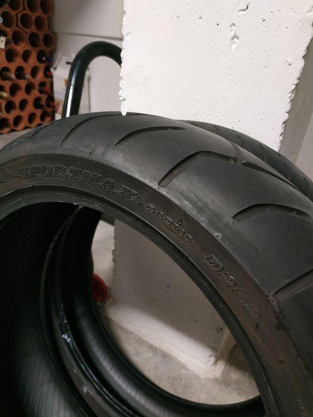 ruedas Moto Dunlop sportmax D252 120 /180