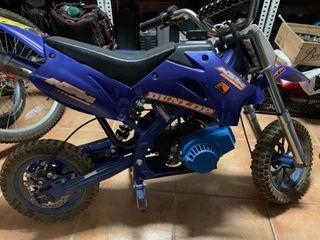 Mini moto cross de gasolina