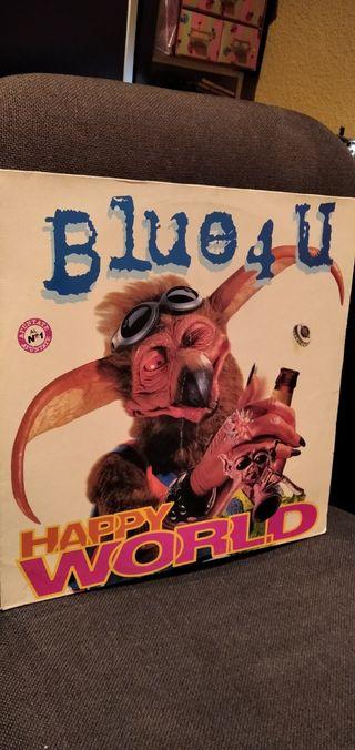 disco vinilo Maxi Blue 4 U