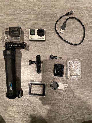 GoPro Hero 4 + accesorios