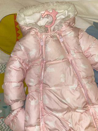 Buzo de bebé Mayoral con manoplas y patucos