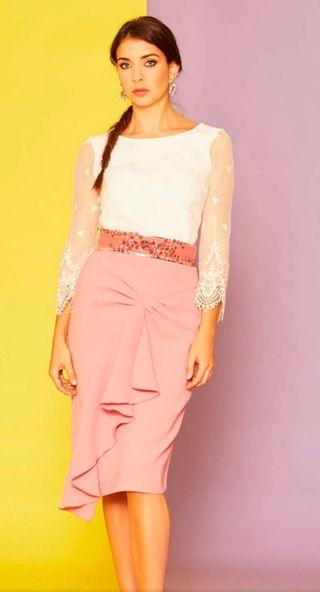 Blusa de plumeti de SARA RUIZ
