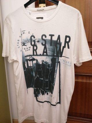 camiseta manga corta g-star