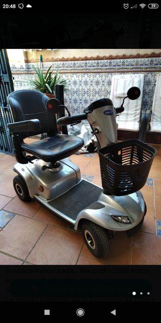 scooter eléctrico minusvalido
