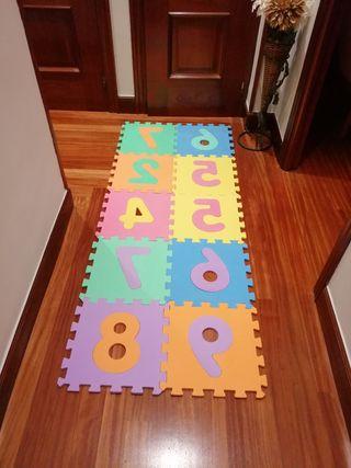 losas para niños de numeros