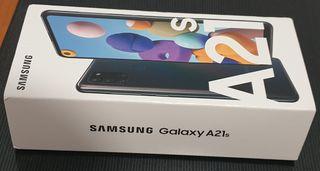 SAMSUNG GALAXY A21S 64GB NEGRO PRECINTADO