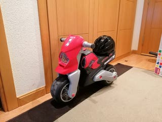 Moto molto xtreme niños con casco de seguridad
