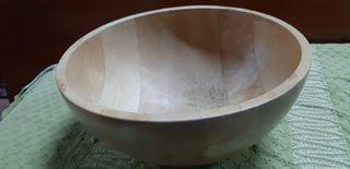 cuenco o centro madera
